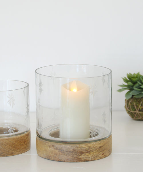 mini ivory battery candle