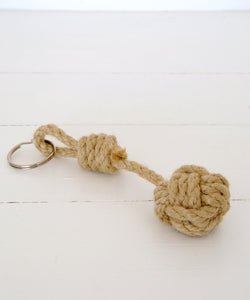 monkey fist keyring