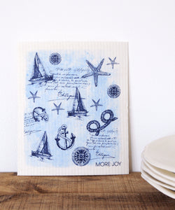 Nautical Dishcloth