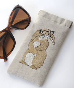 Rabbit glasses case