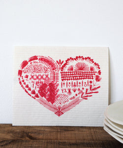 Red Heart Dishcloth