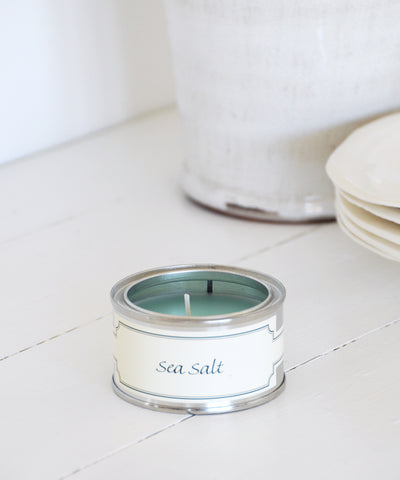 Sea Salt small tin Candle