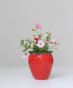 small  strawberry pot