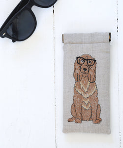 Cocker Spaniel Glasses Case