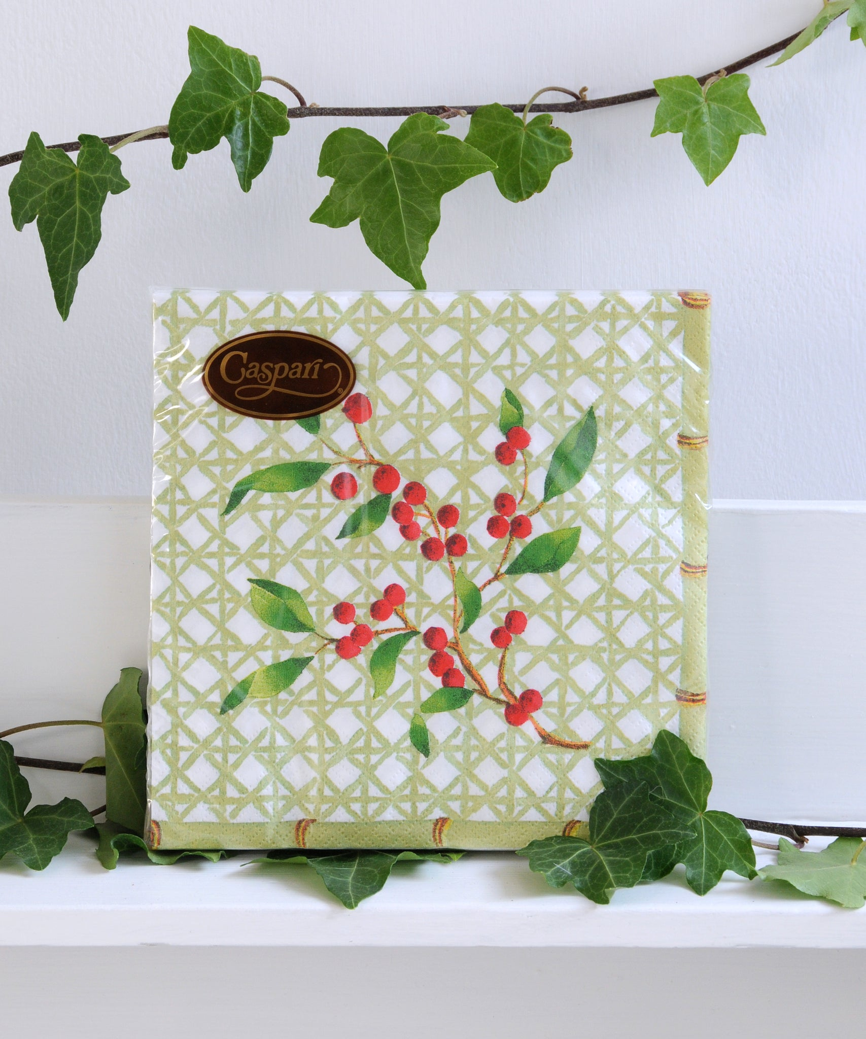 Holly Trellis Napkins