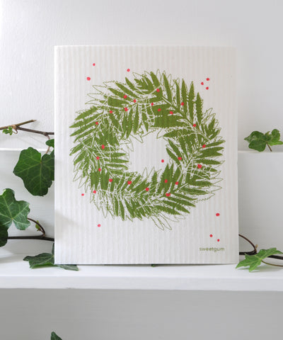 Wreath Dishcloth