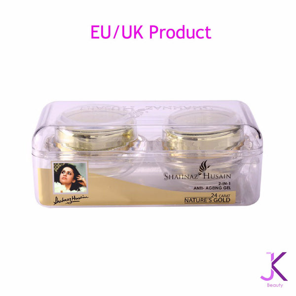 2-IN-1 Anti - Ageing Gel 24 Carat Nature's Gold 40 GM