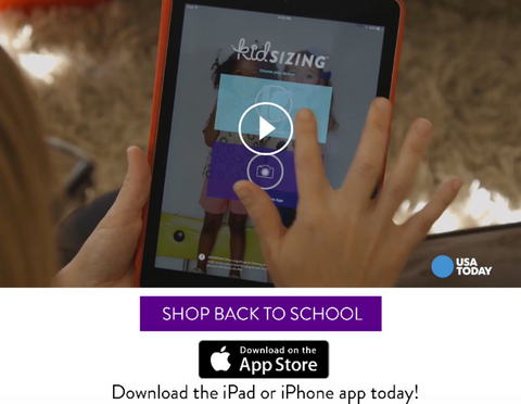 Kids Shoes voted best new App for Back To School