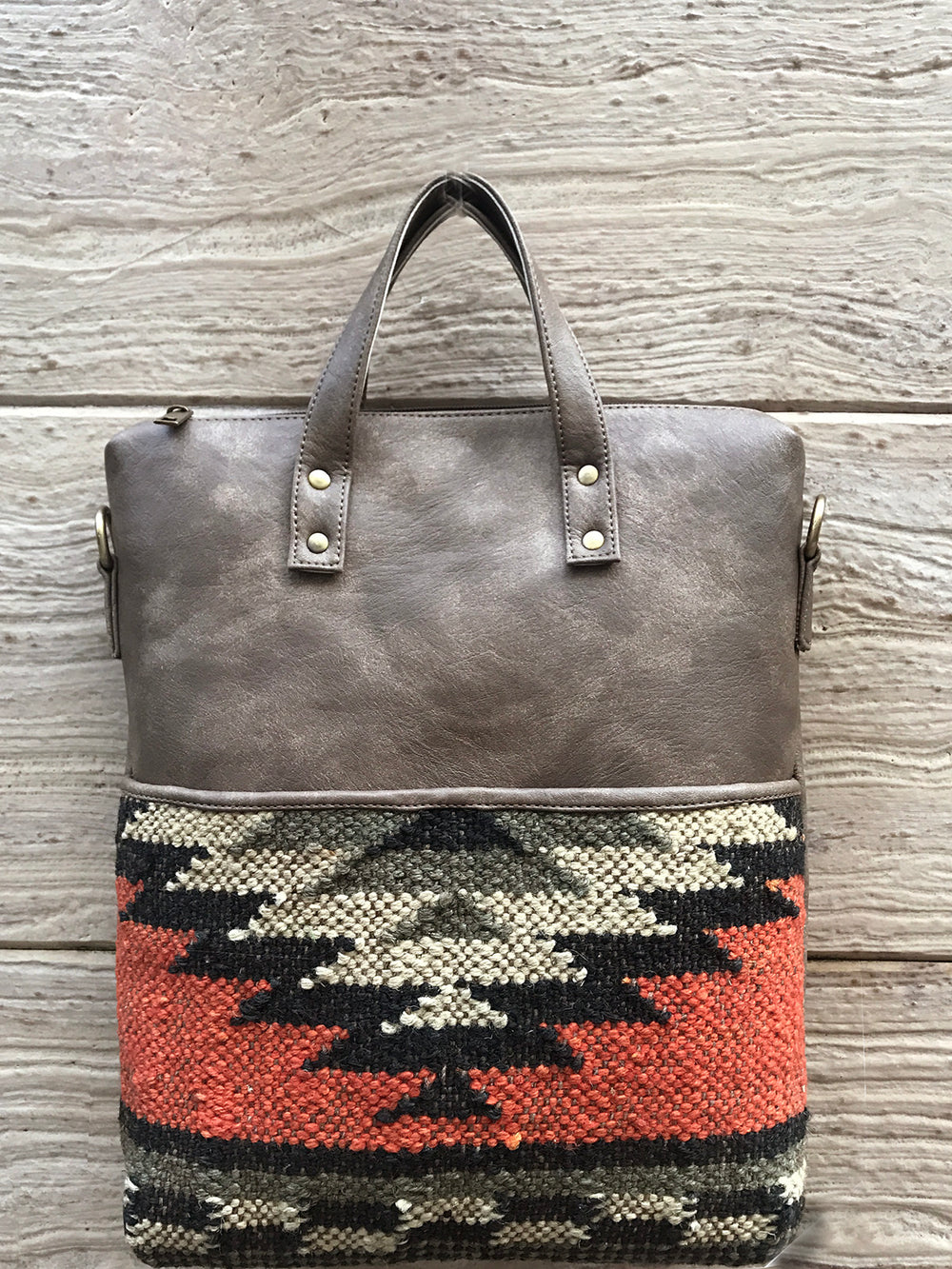 Handwoven Jaipuri kilim Convertible - Back in Stock !