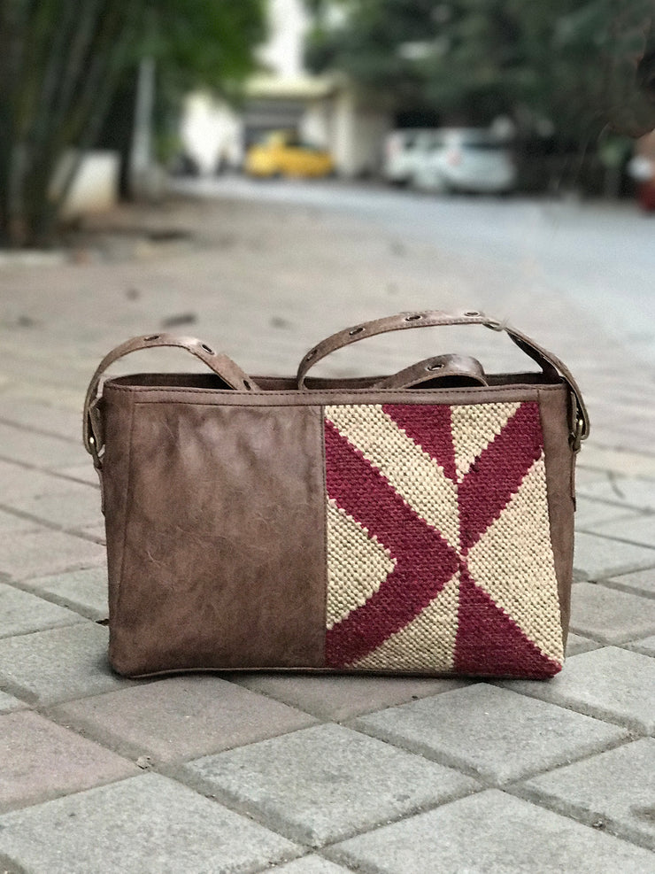 Jaipuri kilim Shoulder Bag