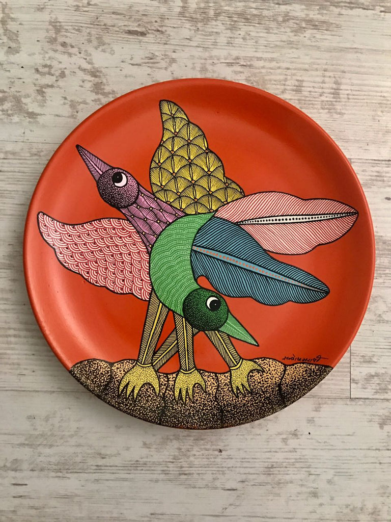 Original Gond decor plate