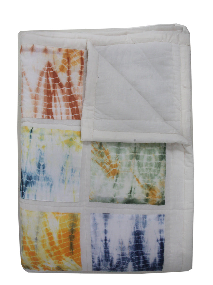 Shibori Patchwork Quilt - Single - ABIS Exclusive!