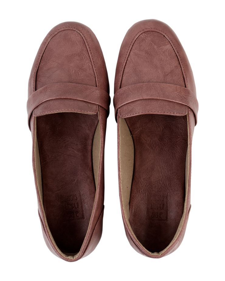 Dusky Pink Loafers
