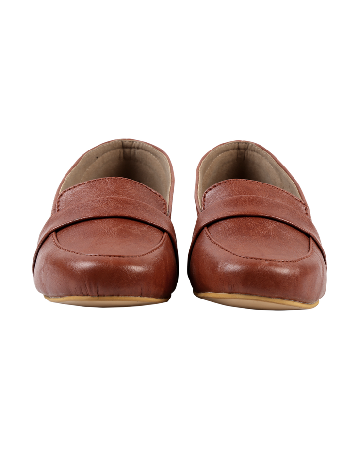 Lovely Rust Loafers