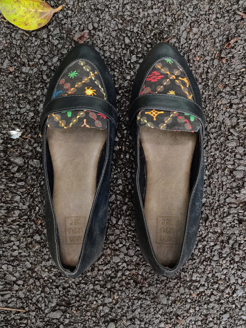 Lambani Embroidered Loafers - New!