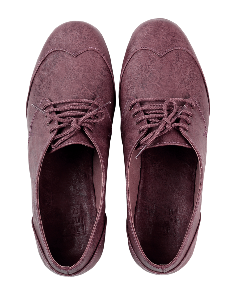 Cool Dull Pink Brogues