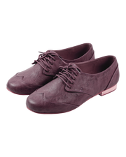 Cool Dusky Pink Brogues