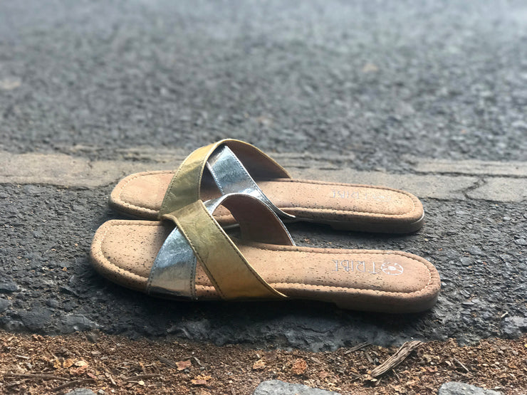 Pinatex Criss Cross Sliders