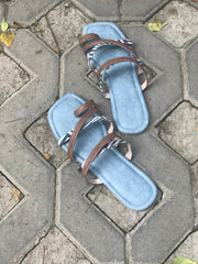 Multi Strap Indie Flats - New!