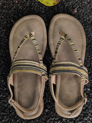 Ajrakh Slingback Sandals - New!