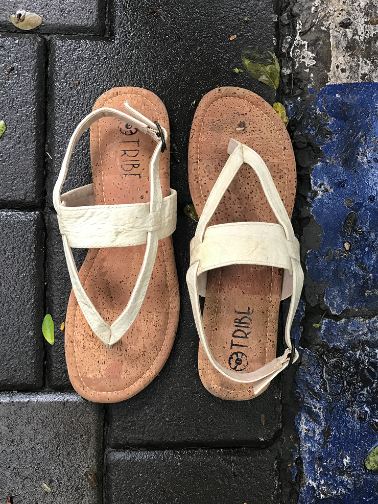 Pinatex Slingback Sandals