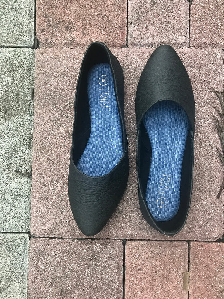 Pinatex Pointed Toe Shoes