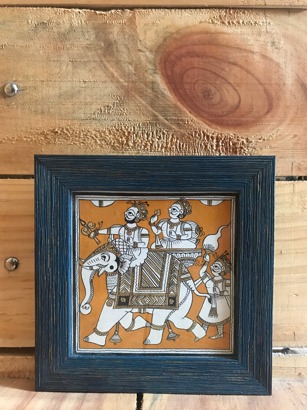 Original Phad painting desktop frame