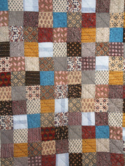 Ajrakh Patchwork Quilt - Single
