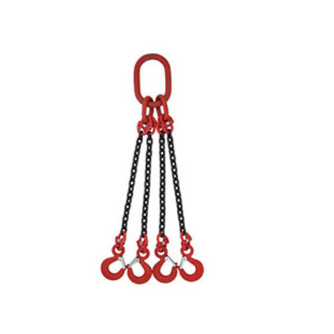 7mm 4 Leg Chain Sling - Lifting Equipment Online