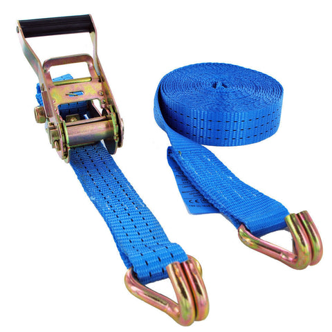 3000kg x 6 Metre Ratchet Strap - Lifting Equipment Online