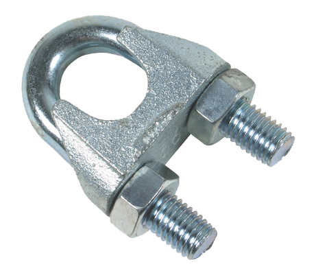 10mm Galvanised Wire Rope Grips (100pcs) - Lifting Equipment Online