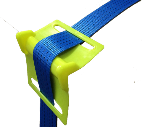 Plastic Corner Protectors for Ratchet Straps (25pcs) - Lifting Equipment Online