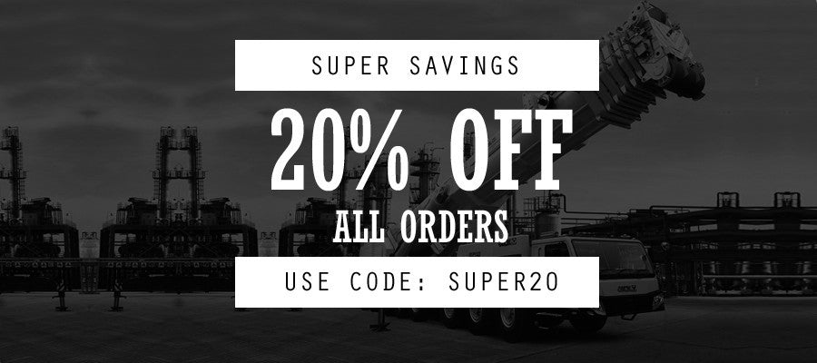 20% off all orders - Lifting Equipment Online