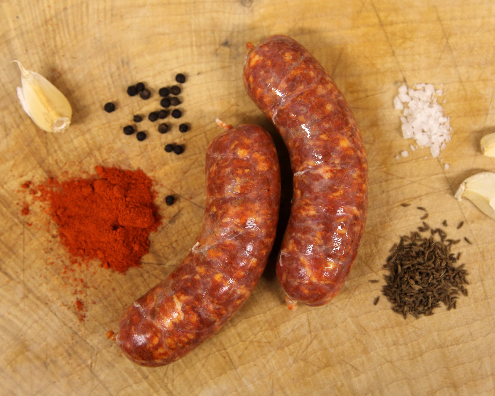 Mild Hungarian pork raw sausage