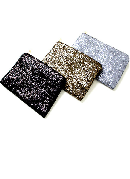 Sparkle Sequined Party Clutch
