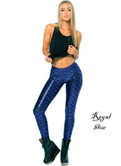Metallic Mermaid Leggings