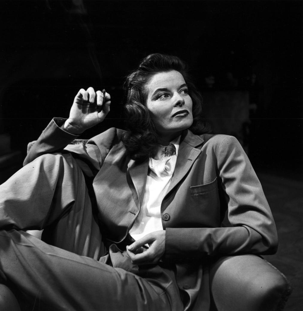 Katherine Hepburn - Power Suit
