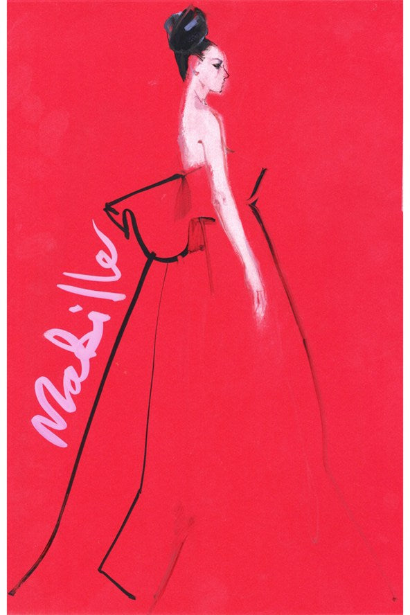 Alexis Mabille by David Downton