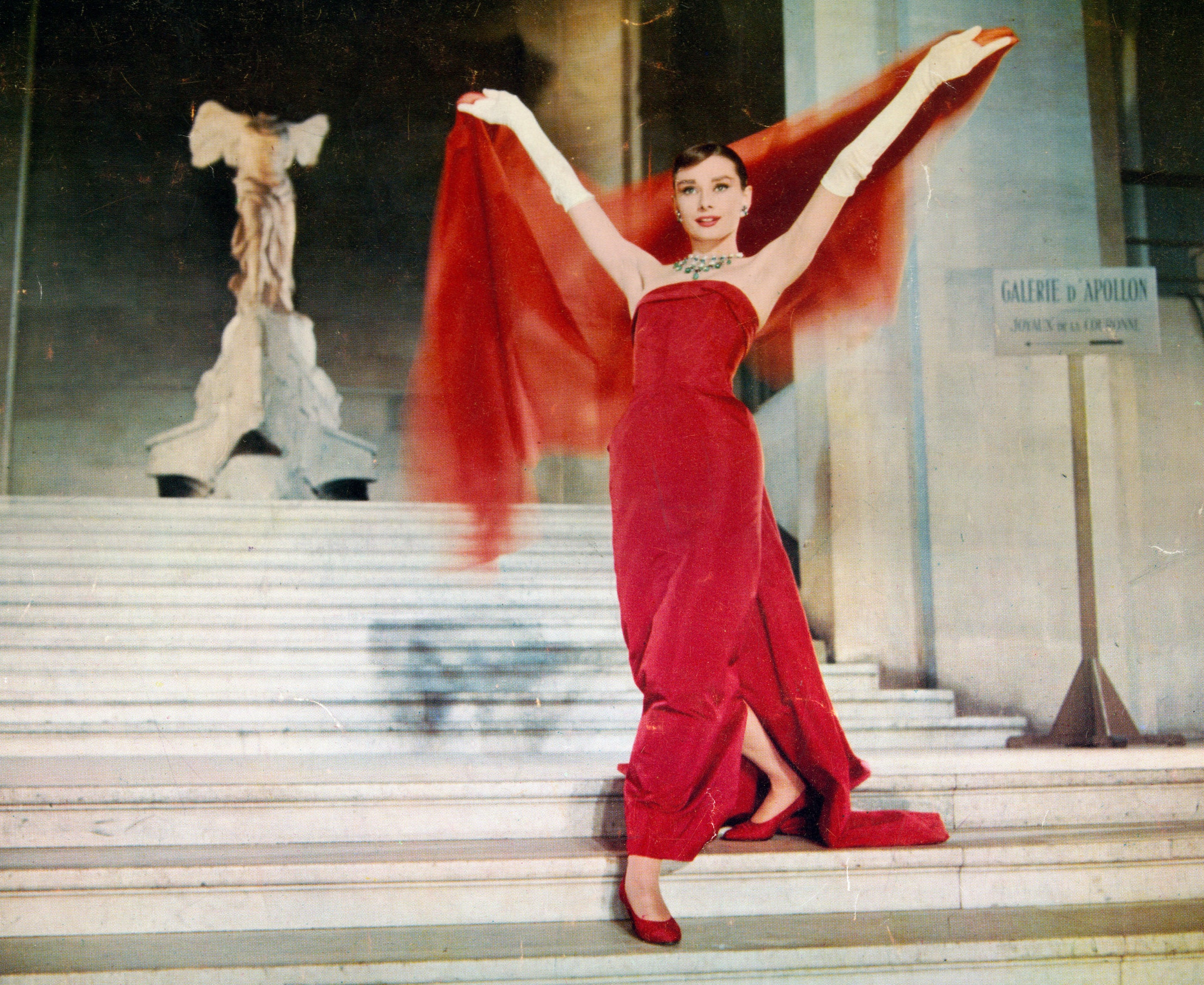 Audrey Hepburn - Funny Face, Red Dress