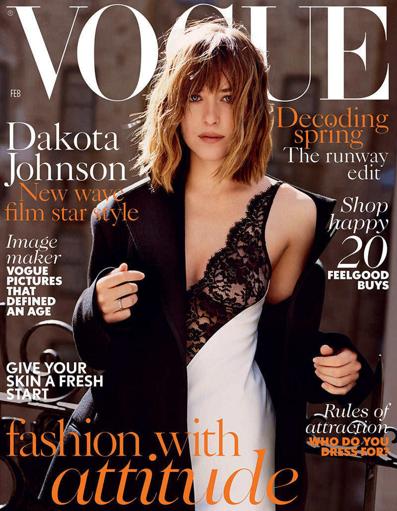 Dakota Johnson Vogue February 2016