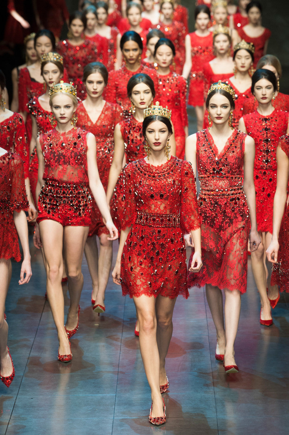 Dolce & Gabbana - Milan Fashion Week 2013