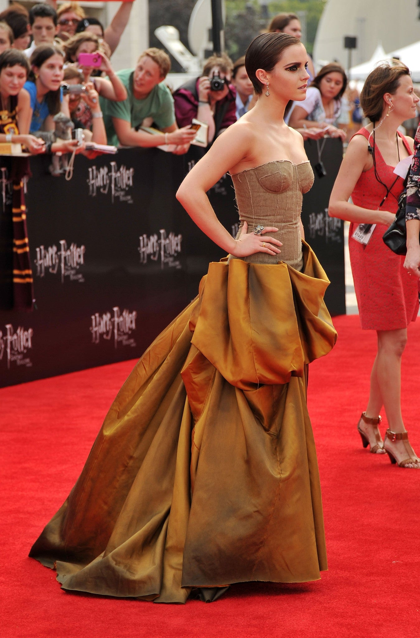 Emma Watson - Harry Potter and the Deathly Hallows premiere