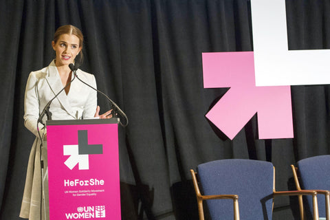 Emma Watson - He for She UN Speech & Campaign