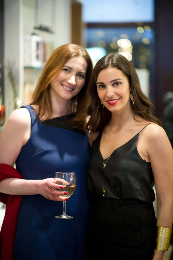 SARAH BOND and Joumanna Nasr of Joumanna Jewellery