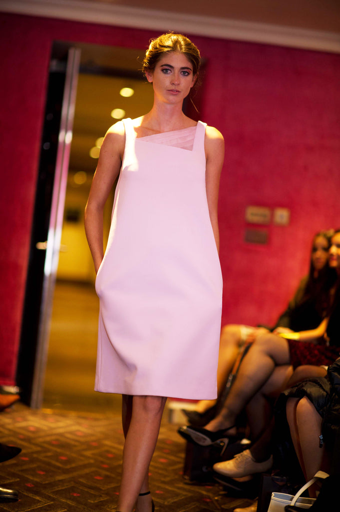 SARAH BOND Lola Pink Dress SS16