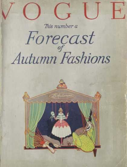 First Vogue Cover - September 1916