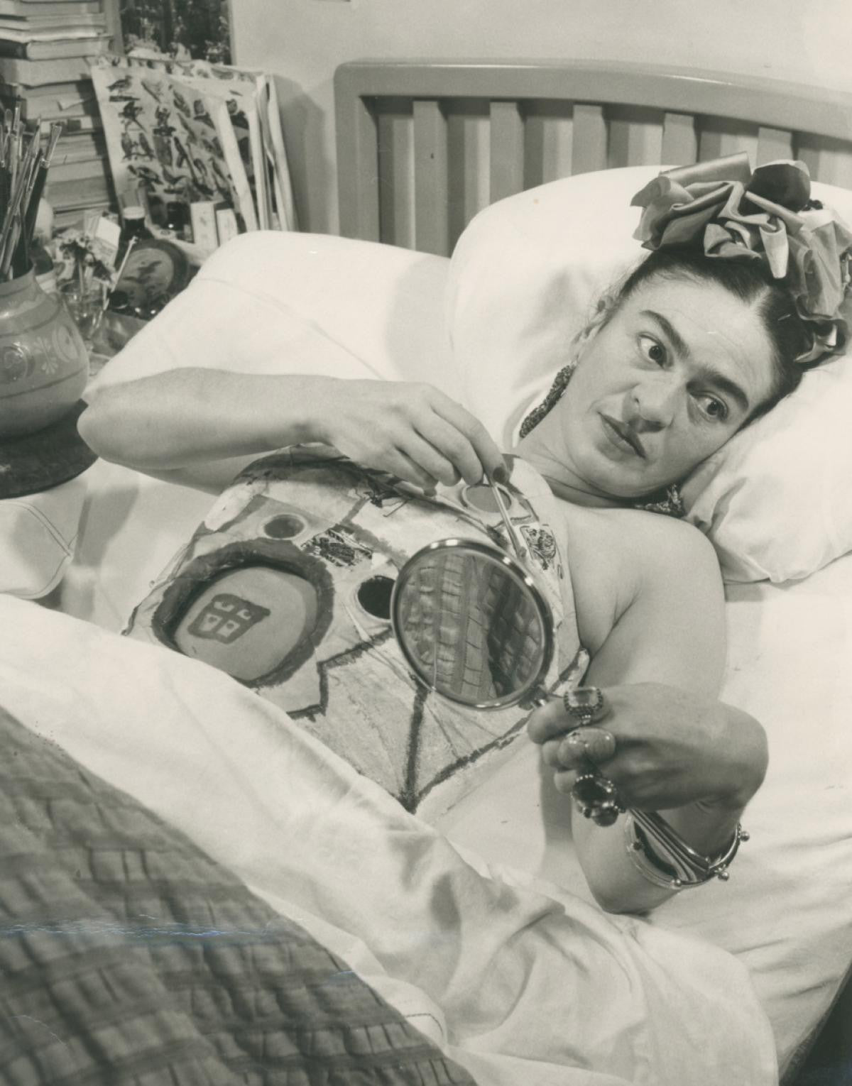 Frida Kahlo in Hospital (1950)