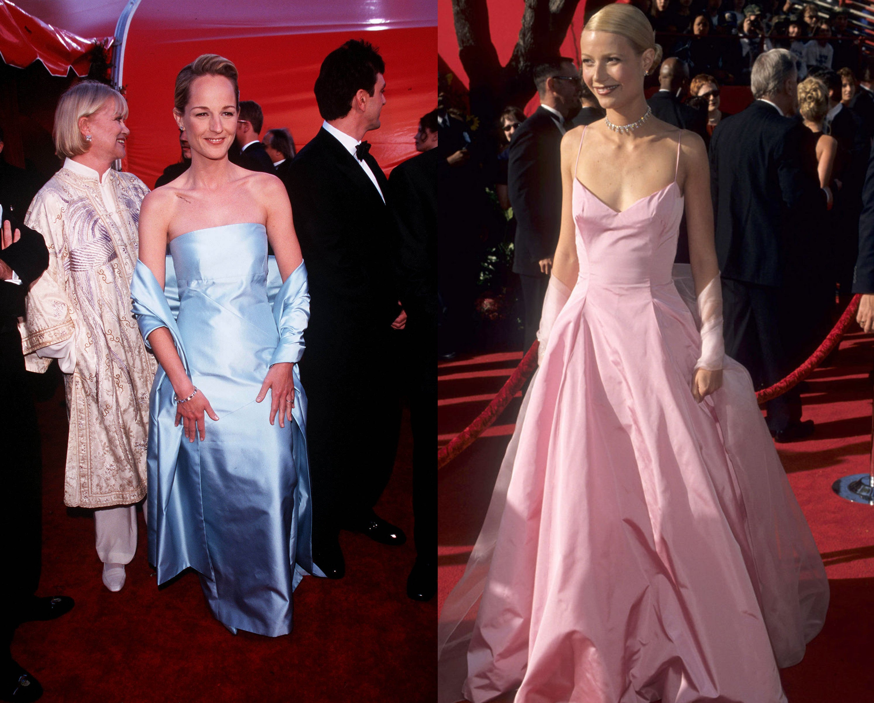 Helen Hunt and Gwyneth Paltrow at the Oscars