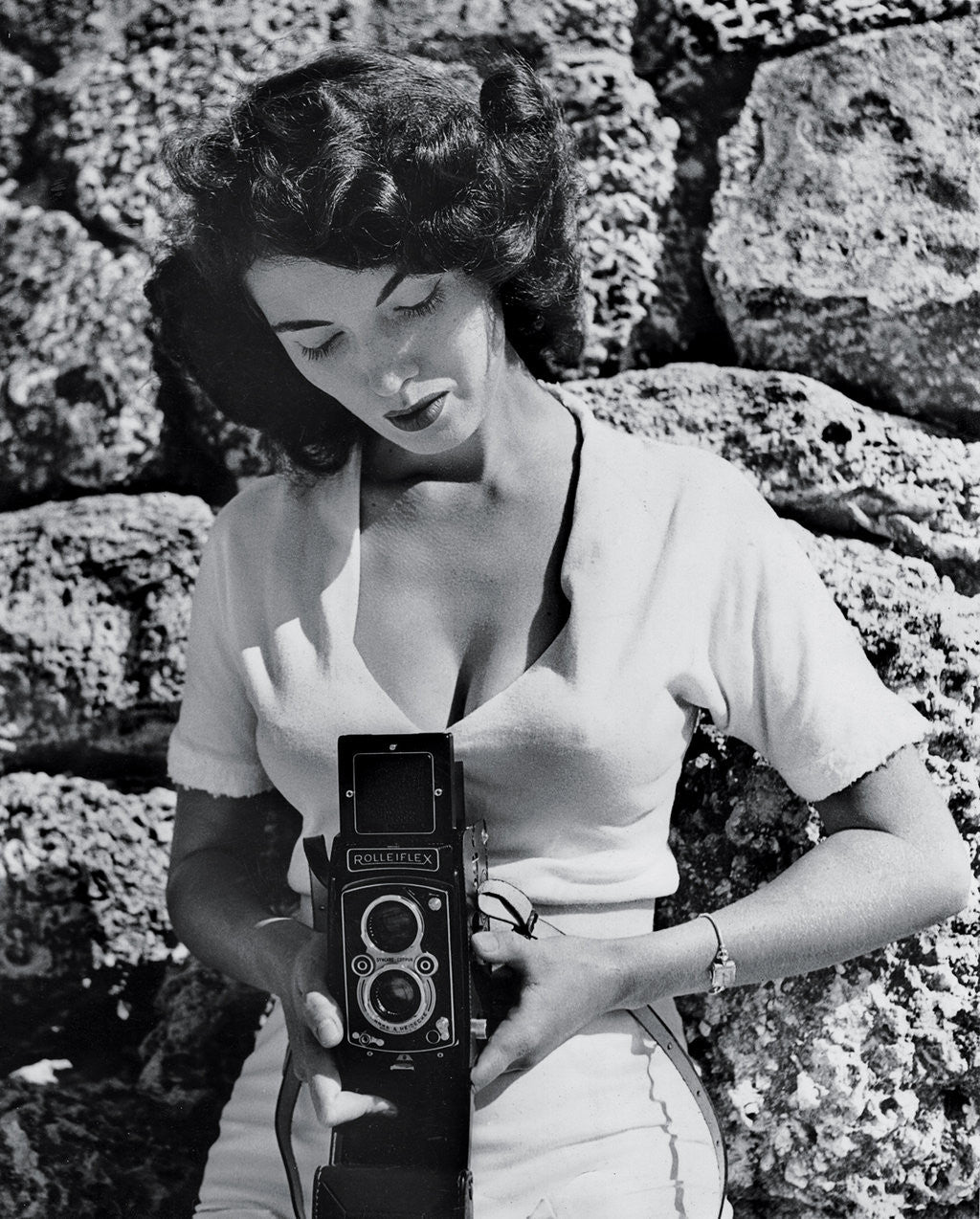 Bunny Yeager - Self Portrait
