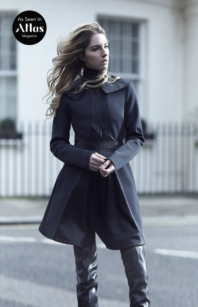 Bo Bardi Black Coat